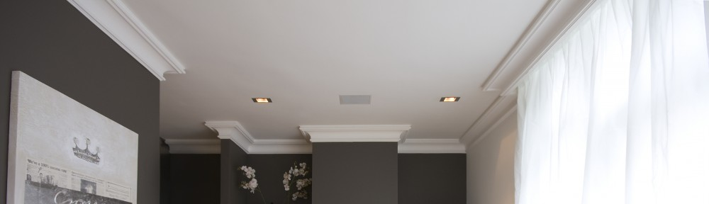 Lambrisering wandlijst sierlijst hout gips muur for Plafond sierlijst